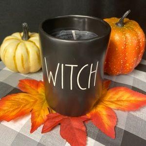 Rae Dunn WITCH Candle (Vanilla Pumpkin)